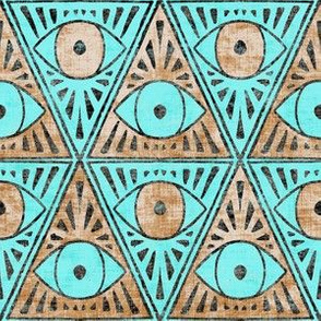 zodiac_magic_eye_copper_and_turquoise