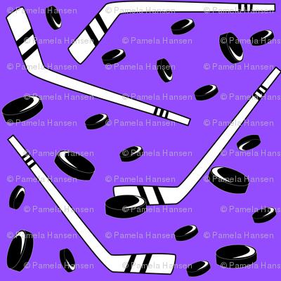 Hockey Purple