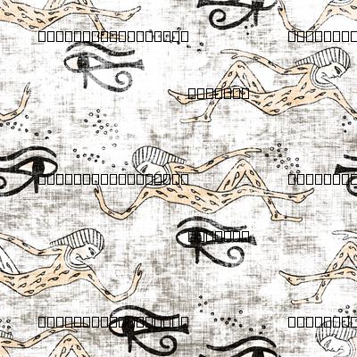 zodiac_pharoah_copper black and white