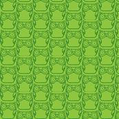 Owls - Green