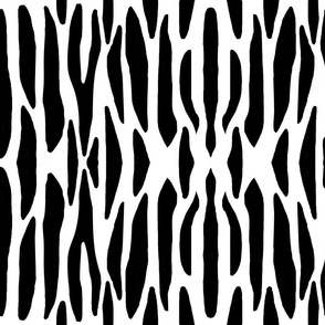 Zebra Black White Stripes Jungle Safari Animal Print