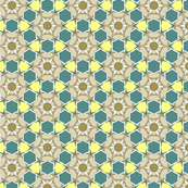 Green and Yellow Geometric