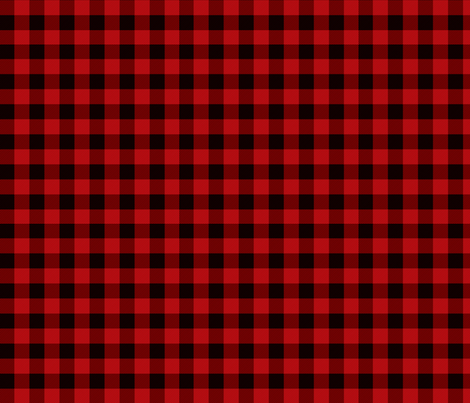 red buffalo plaid fabric by angiehiller on Spoonflower - custom fabric