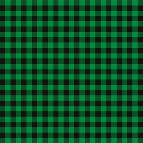 Green Buffalo Plaid