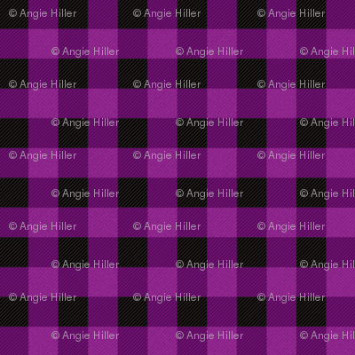 Purple Buffalo Plaid