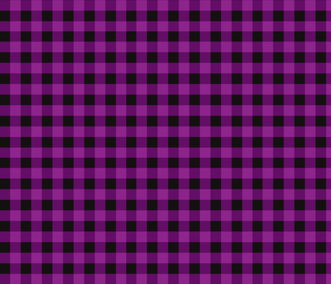 Purple Buffalo Plaid fabric by angiehiller on Spoonflower - custom fabric