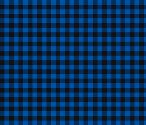 Blue Buffalo Plaid fabric by angiehiller on Spoonflower - custom fabric