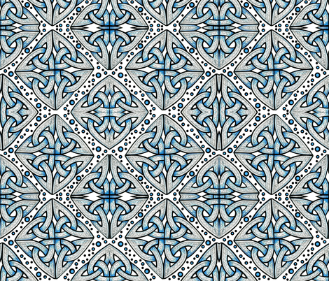 Celtic Knots fabric by whimzwhirled on Spoonflower - custom fabric