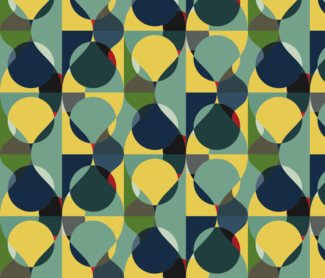 Pears fabric by sew_chic on Spoonflower - custom fabric