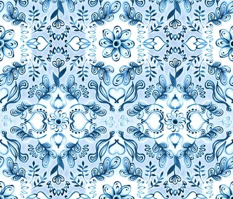 Moonlight Island Dreams fabric by micklyn on Spoonflower - custom fabric