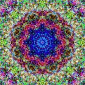 Mandala 2 blue green