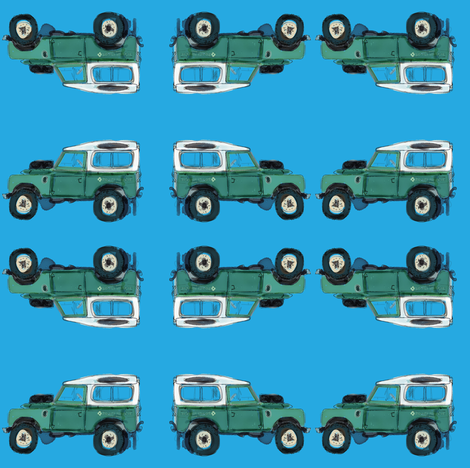 Off Road This fabric by rufkisneptune on Spoonflower - custom fabric