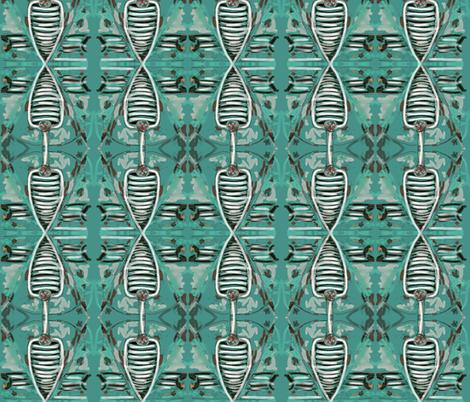 Alfa Patina fabric by rufkisneptune on Spoonflower - custom fabric