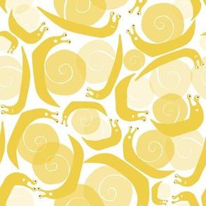 SNAIL - yellow