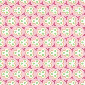 Lila pink green