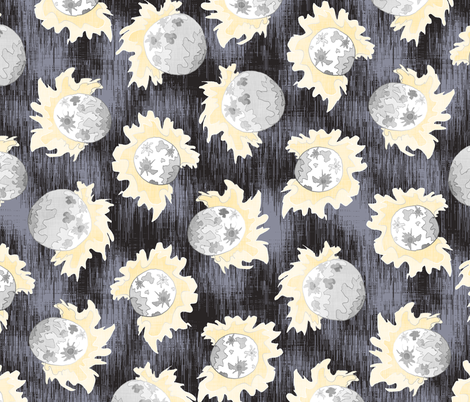 Moonlight Show fabric by pond_ripple on Spoonflower - custom fabric
