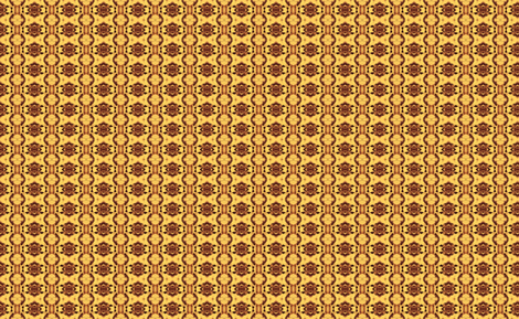 Sienna Gold Tribute 3 fabric by kumate on Spoonflower - custom fabric
