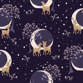 Little Deer // by petite_circus // cute kids baby nursery //