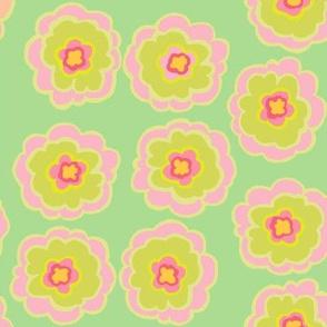 flower_button_green teal