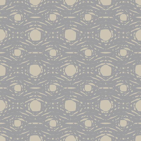 Moth And Linen (Taupe And Gray) fabric by david_kent_collections on Spoonflower - custom fabric