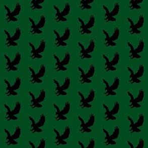Eagle Flock on Green