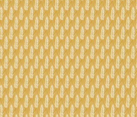 Gestural Wheat fabric by mt_prairie_made on Spoonflower - custom fabric