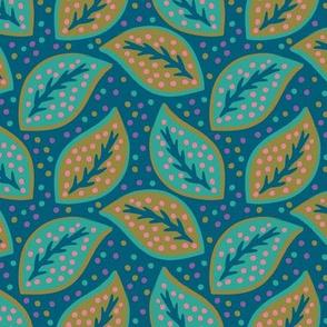 Leaves Blue-Green