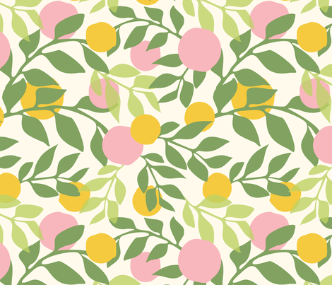 Spring fabric by thislittlestreet on Spoonflower - custom fabric