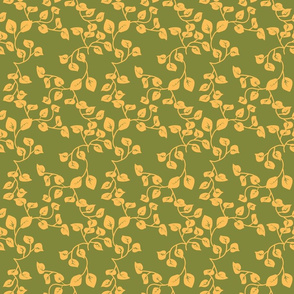 Yellow_Leave_on_Green