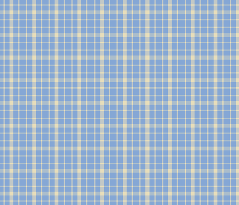 Blue_Plaid fabric by lana_gordon_rast_ on Spoonflower - custom fabric
