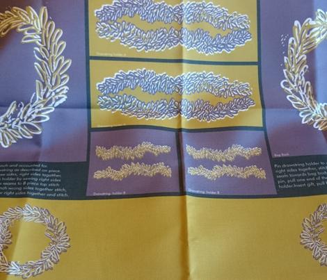Mustard & Purple Gift Bag