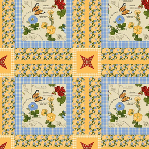 Botanical_Study_Cheater_Quilt