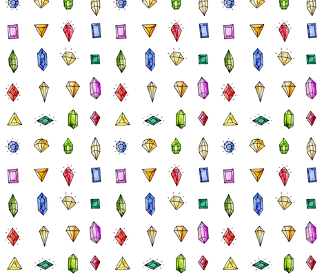 Bling! fabric by mulberry_tree on Spoonflower - custom fabric