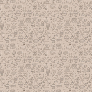 tea party pattern 2
