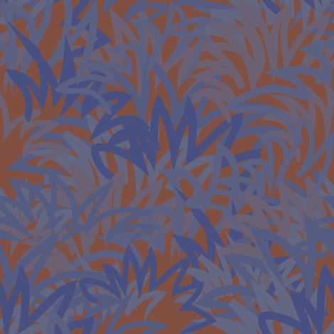 What If? Crazy Grass fabric by anniedeb on Spoonflower - custom fabric