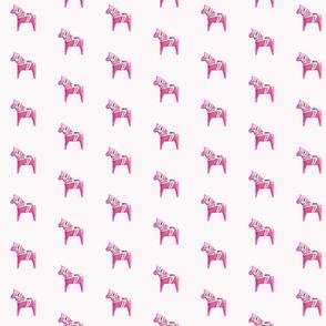 Dala Horse Pink