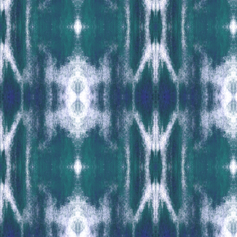 COLOR FIELDS 9 - FOREST GREEN & NAVY fabric by shi_designs on Spoonflower - custom fabric