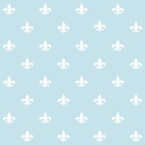 Lily of France aqua