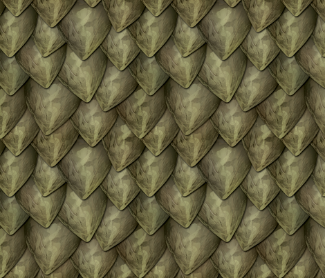 Dragon Scales Large fabric by xoxotique on Spoonflower - custom fabric