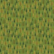 Tall Pines - Mustard
