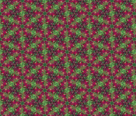 Leaf Hexagon 1 fabric by enid_a on Spoonflower - custom fabric