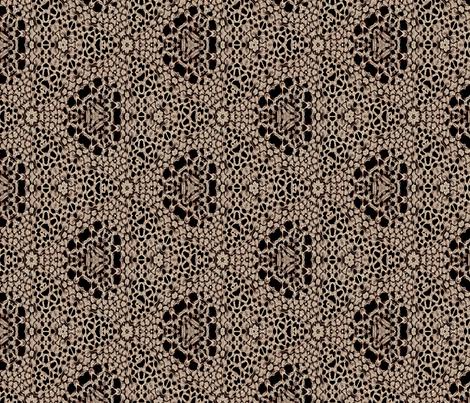 Dark Antique Lace fabric by wren_leyland on Spoonflower - custom fabric