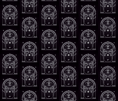 Mines of Moria Entrance fabric by sappingtonk on Spoonflower - custom fabric