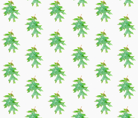 Oak Leaves fabric by jadis23 on Spoonflower - custom fabric