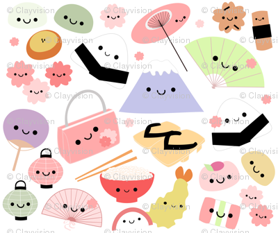 Happy Japan Friends - Mini