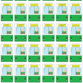 "smaller scale boston subway ""T"" MBTA green line train cars"