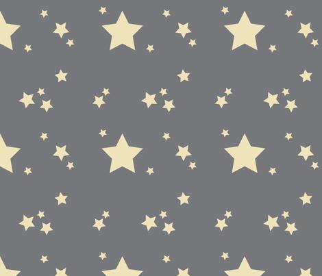 Wish Upon a Star fabric by myvisualmark on Spoonflower - custom fabric