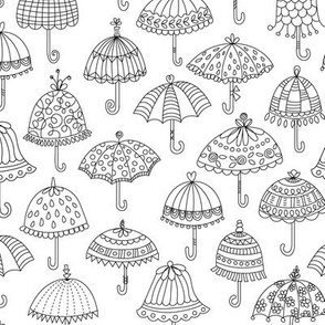 Fancy Umbrellas