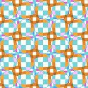 Raqua_and_brown_checkerboard_3-d_illusion_dots_shop_thumb