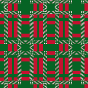 green and red plaid 2